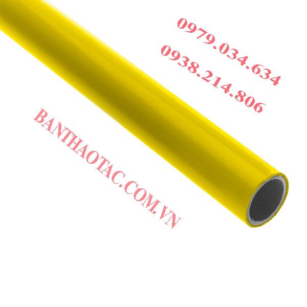 Ống thép bọc nhựa màu vàng